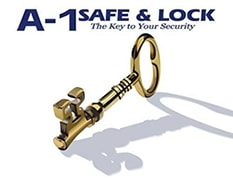 A-1 Safe and Lock logo