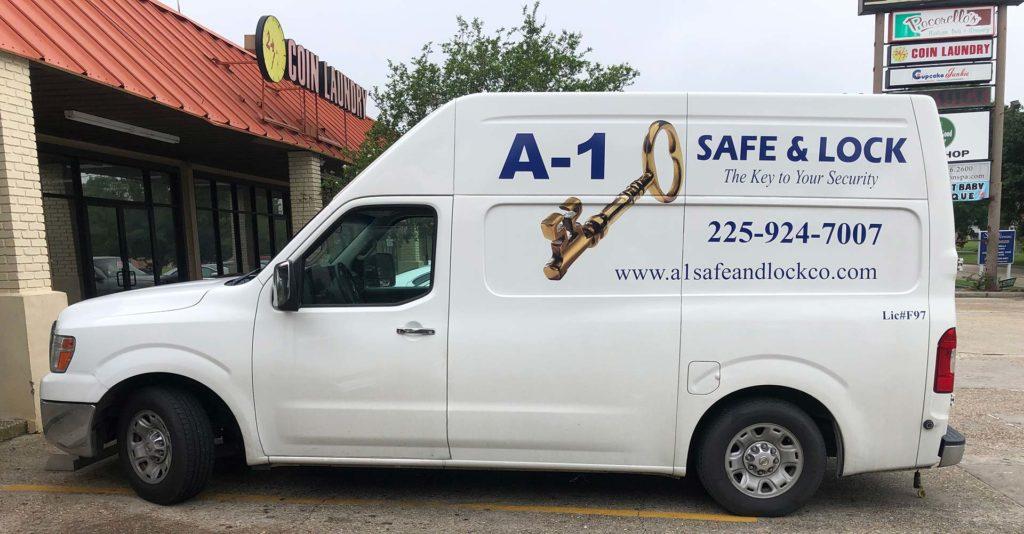A-1 Safe & Lock van